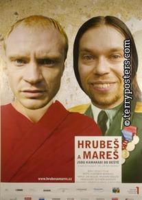 Plakát: Hrubeš a Mareš jsou kamarádi do deště
