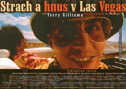 Plakát: Strach a hnus v Las Vegas 2