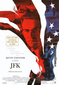 Film poster: JFK