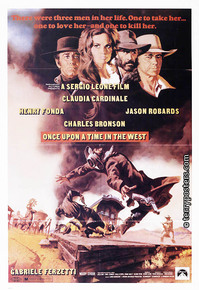 Film poster: Once upon a time in the west 03
