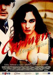 Plakát: Carmen: Divoká vášeň