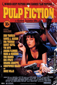 Film poster: Pulp fiction 05