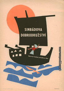 Film poster: Arabian Nights: The Adventures of Sinbad
