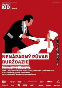 Plakát: Nenápadný půvab buržoazie