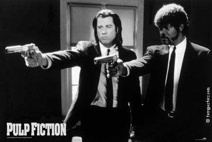 Film poster: Pulp fiction 02