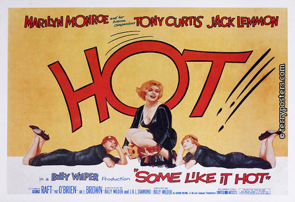 Film poster: Some like it hot 02