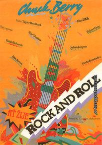 Plakát: Chuck Berry - Ať žije rock and roll