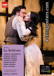 DVD: La Bohème - Angela Gheorghiu
