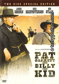 DVD: Pat Garrett a Billy Kid