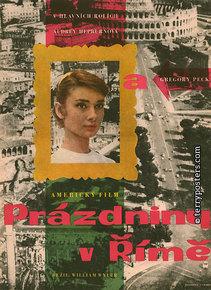 Plakát: Prázdniny v Římě