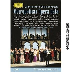 DVD: Galapředstavení v Metropolitní opeře - 25. výročí Jamese Levina