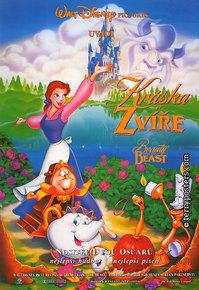 Film poster: Kráska a zvíře