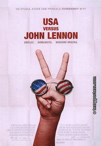 Film poster: USA versus John Lennon