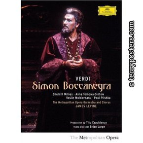 DVD: Simon Boccanegra - Milnes