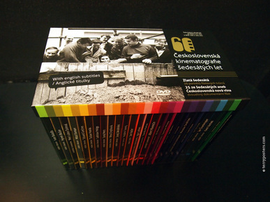 DVD: The Golden Sixties: The Czechoslovak New Wave - Collector´s Box
