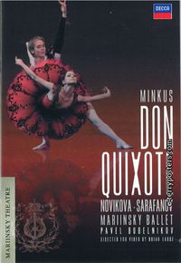 DVD: Don Quixote - Sarafanov