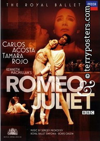 DVD: Romeo a Julie - Rojo