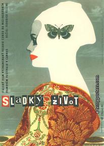 Plakát: Sladký život 01