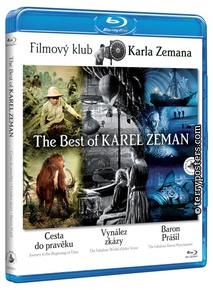 : Journey to the Beginning of Time + The Fabulous World of Jules Verne + The Fabulous Baron Munchausen (aka The Best of Karel Zeman) - Blu-ray