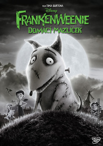 DVD: Frankenweenie: Domácí mazlíček
