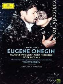 DVD: Eugene Onegin - Netrebko