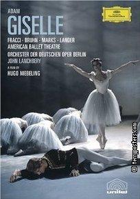 DVD: Giselle - balet - Carla Fracci