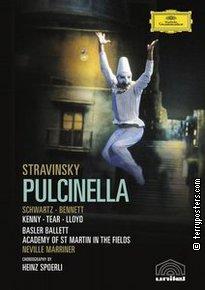 DVD: Pulcinella - balet