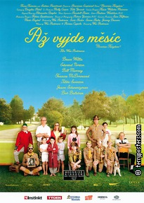Film poster: Moonrise kingdom