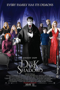 Film poster: Dark Shadows