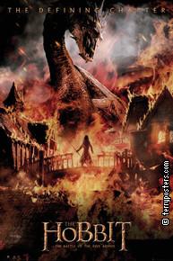 Plakát: Hobit: Bitva pěti armád