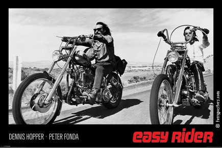 Film poster: Easy rider 8