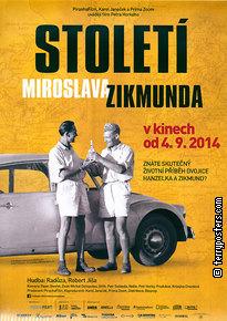 Plakát: Století Miroslava Zikmunda