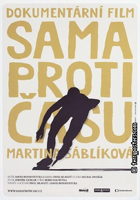 Plakát: Martina Sáblíková - Sama proti času