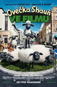 Film poster: Ovečka Shaun ve filmu
