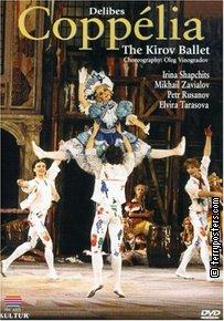 DVD: Coppélia - balet