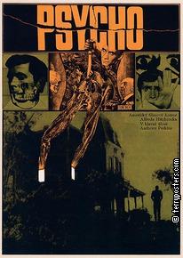 Plakát: Psycho