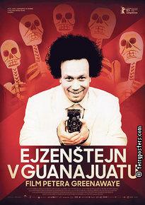 Film poster: Ejzenštejn v Guanajuatu