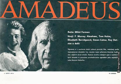 Plakát: Amadeus 15