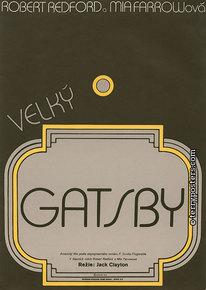 Plakát: Velký Gatsby