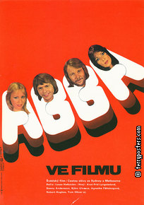 Film poster: ABBA: The Movie