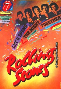 Film poster: Rolling Stones: Let's Spend the Night Together