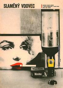 Plakát: Slaměný vdovec