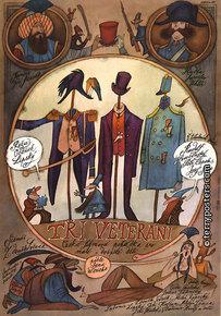 Plakát: Tři veteráni 1