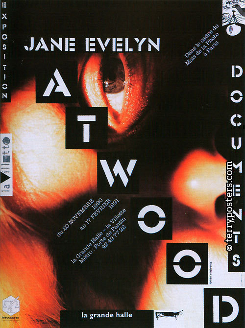 Jane Evelyn Atwood.Document, exposition: Plakát; 1991